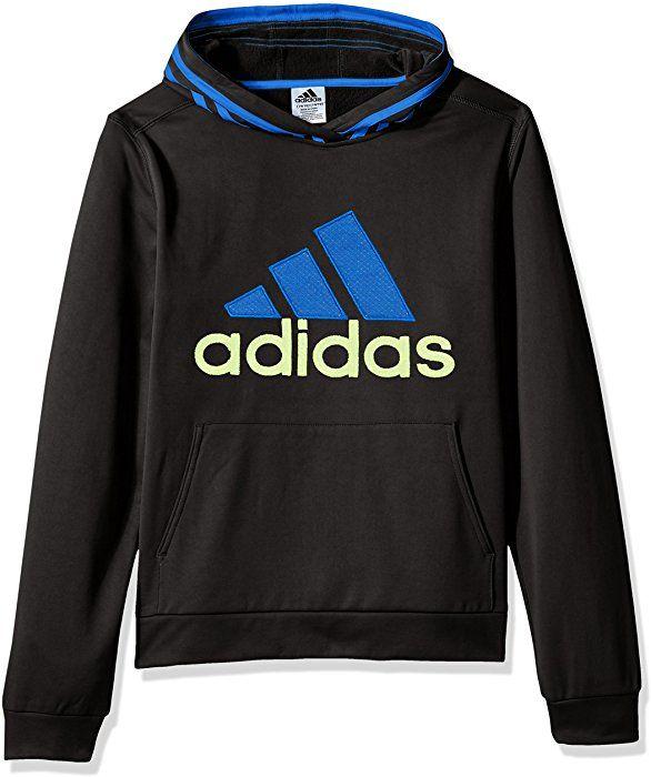 adidas Boys' Athletic Pullover Hoodie