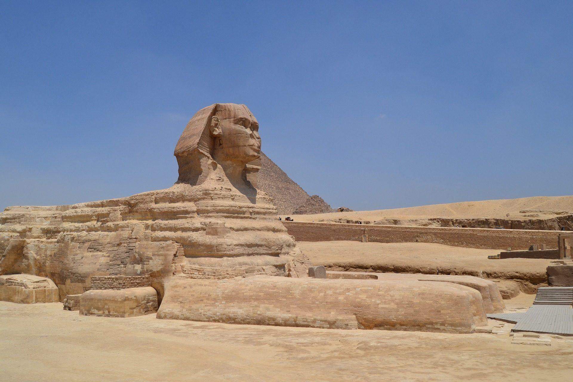 esfinge, estatua, monumento, arquitectura, desierto, el cairo, egipto, 1706181148