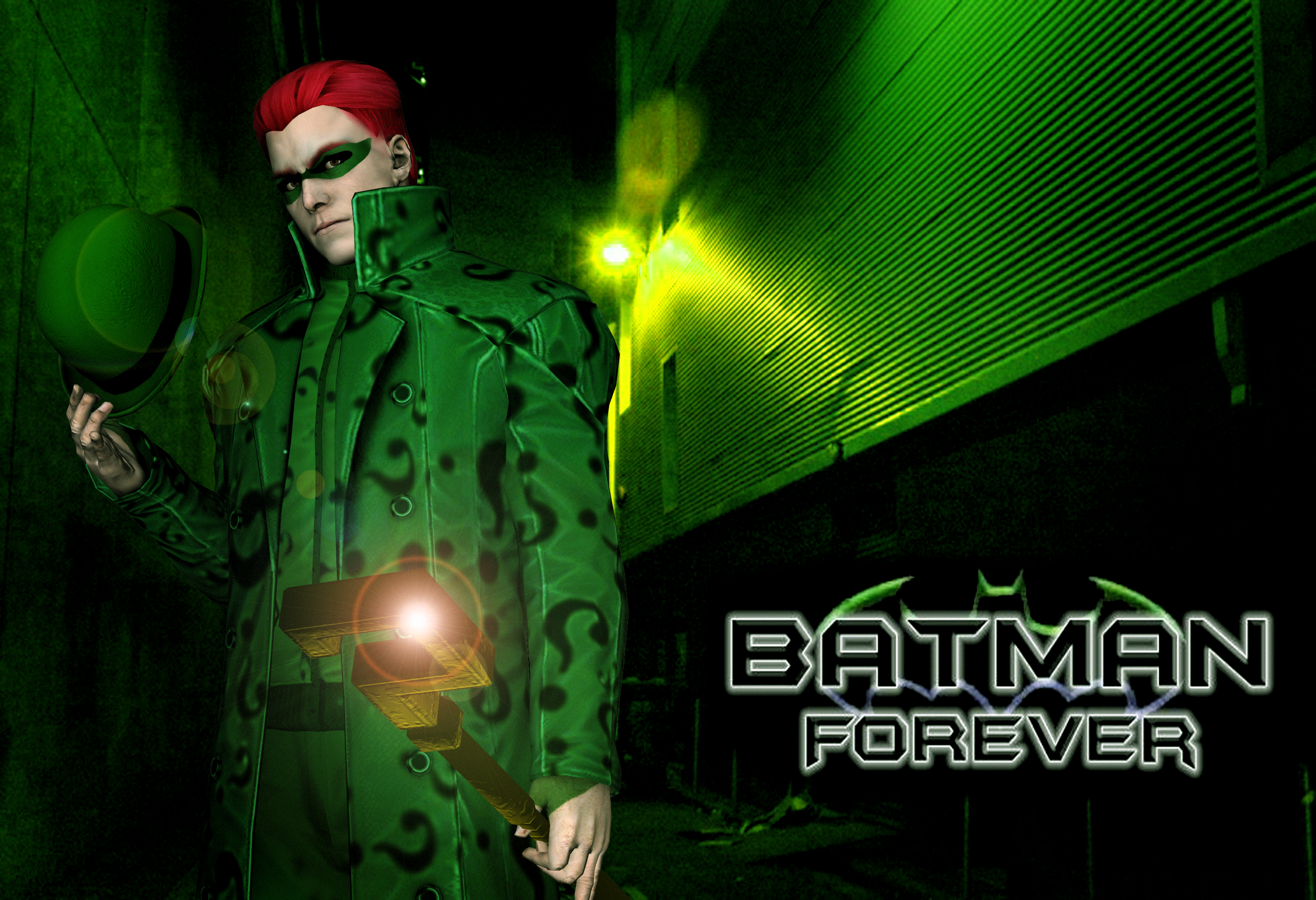 Jim Carrey And Tommy Lee Jones Portrayal Of Riddler Two Face Description From Deviantart I Searched For This On Bing Images
