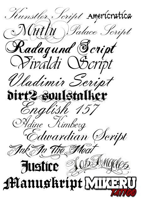 Páginas Para Hacer Letras De Tatuajes Imagui Ink Tattoos
