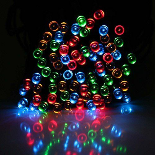 328ft 10m Battery Operated 72 LED 8 Function Indoor Outdoor Cool