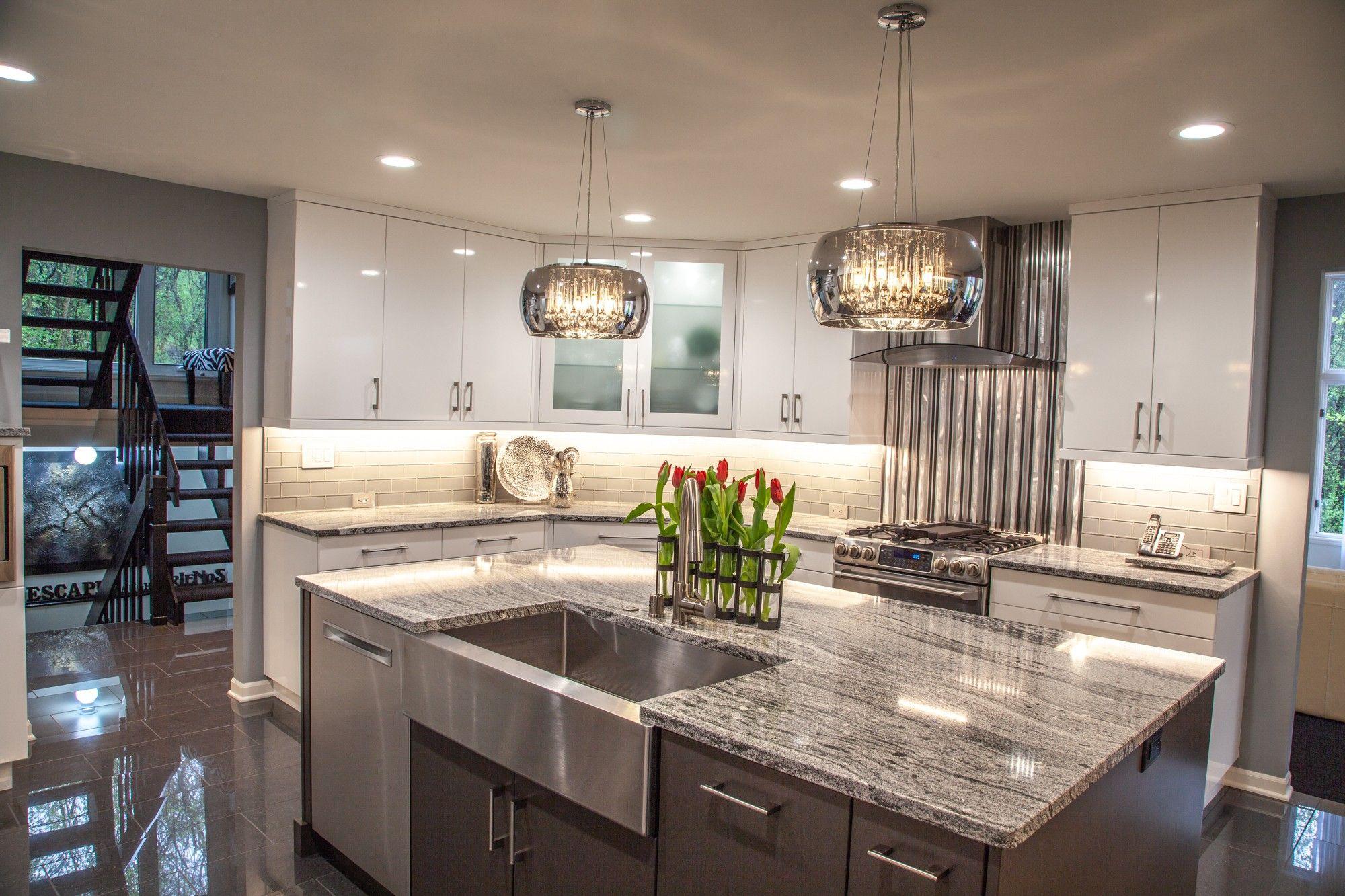 Pin by Linda Yan on Great Design | Modern kitchen design ...