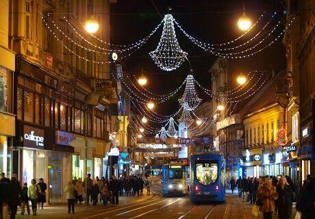 Ilica Christmas Time Zagreb Zagreb Croatia Croatia