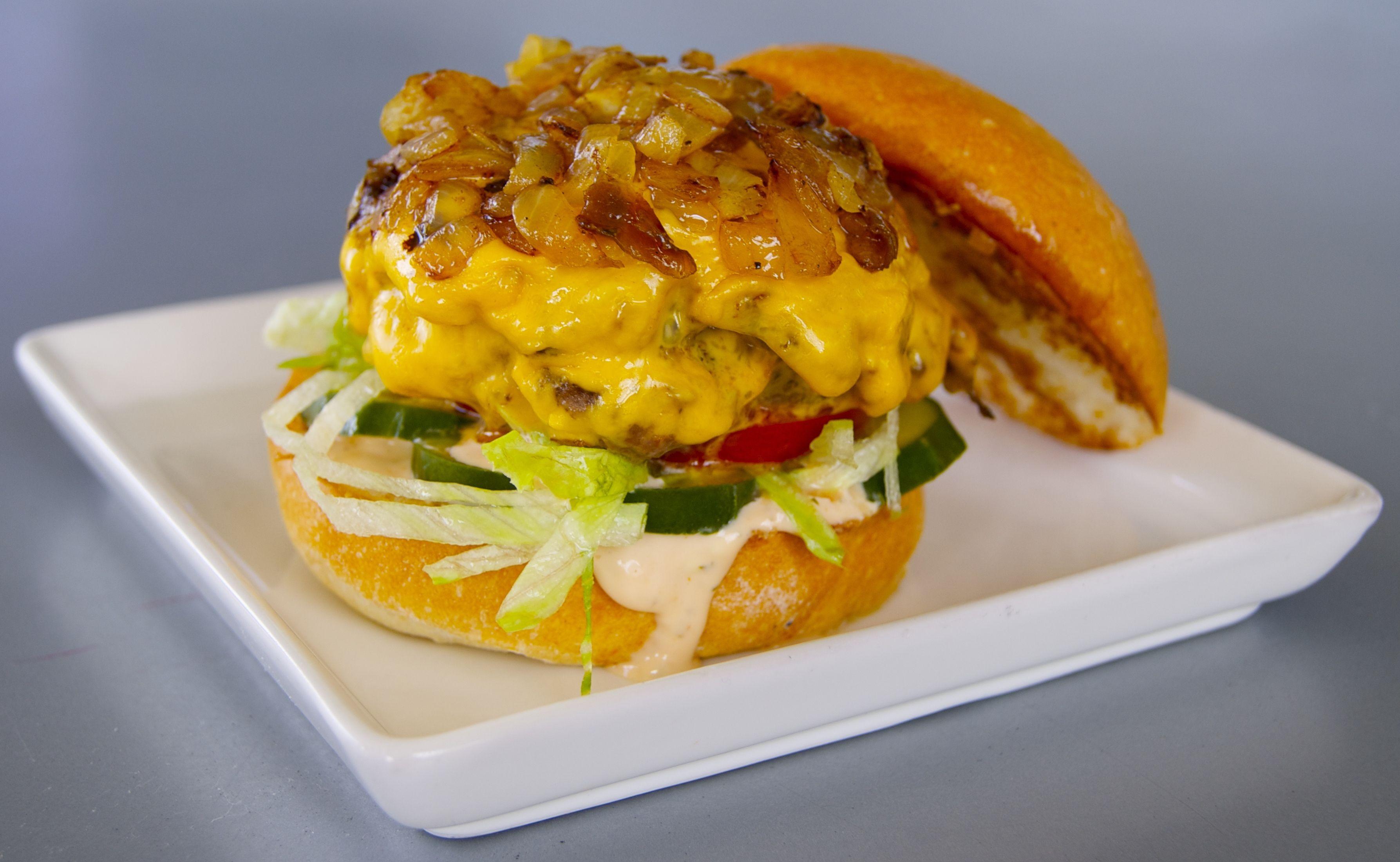 chef gregg piazzi of richard blais u0027s flip burger will be dishing