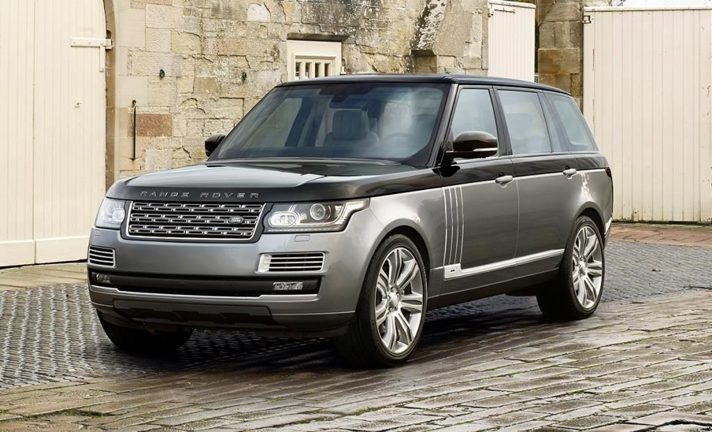 World's Famous 10 Cars Range rover, The new range rover
