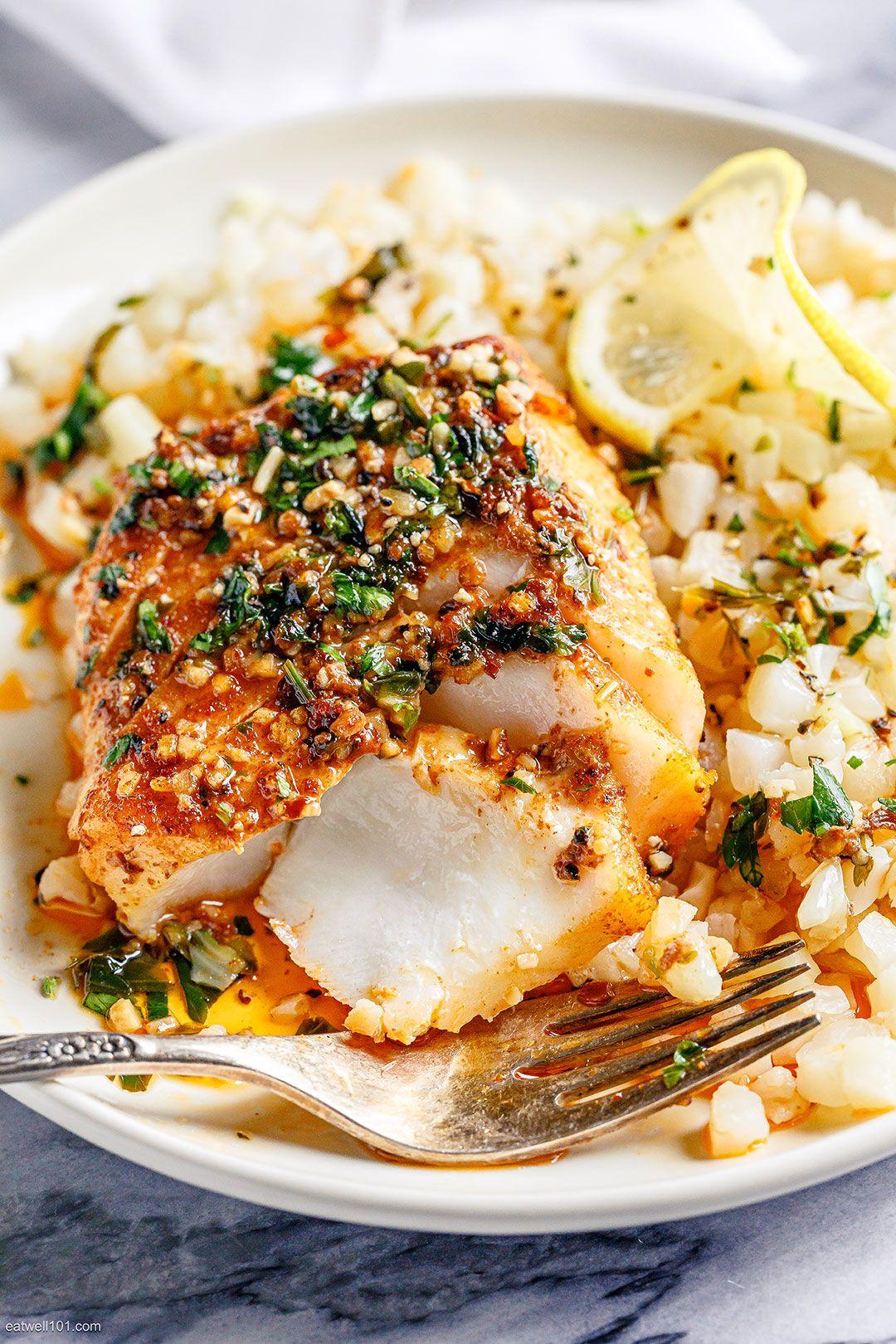 Lemon Garlic Butter Baked Cod Fillets Baked Cod Fish Recipe Eatwell101 This Lemon Garlic B In 2020 Cod Fish Recipes Baked Fish Recipes Baked Baked Cod Fillets