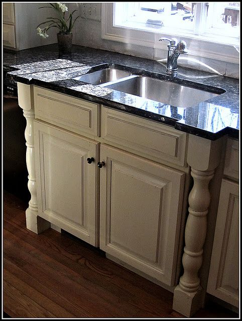 Kitchen Bump Out The Sink Cabinet Would This Work With An Apron