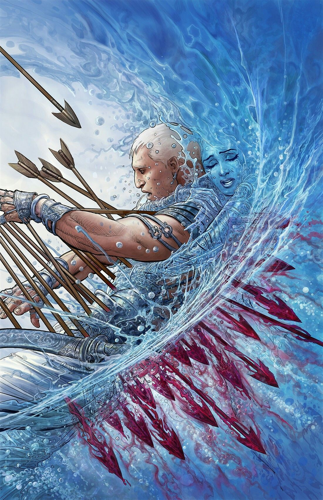 Bhishma Pitamah Epic Art Art Mythology Art