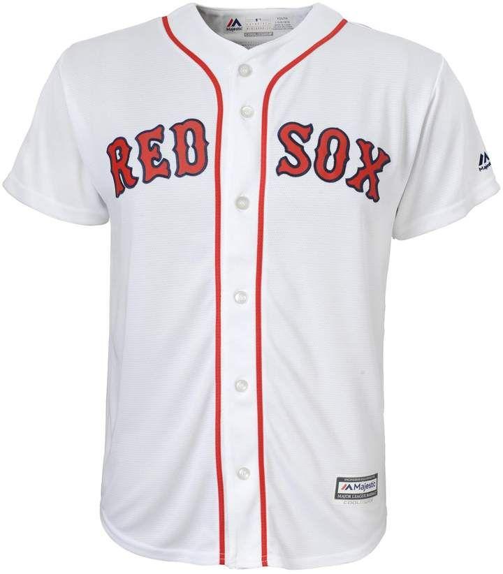 size 40 5ccfc a912e Majestic Boys 8-20 Boston Red Sox Replica MLB Jersey ...
