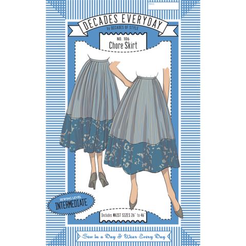 No. 106 Chore Skirt