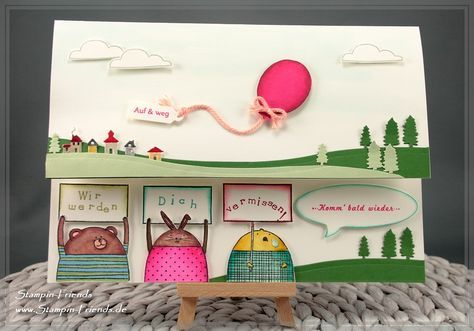 stampin 39 up zum abschied eines kollegen einer kollegin geschenk karte basteln pinterest. Black Bedroom Furniture Sets. Home Design Ideas