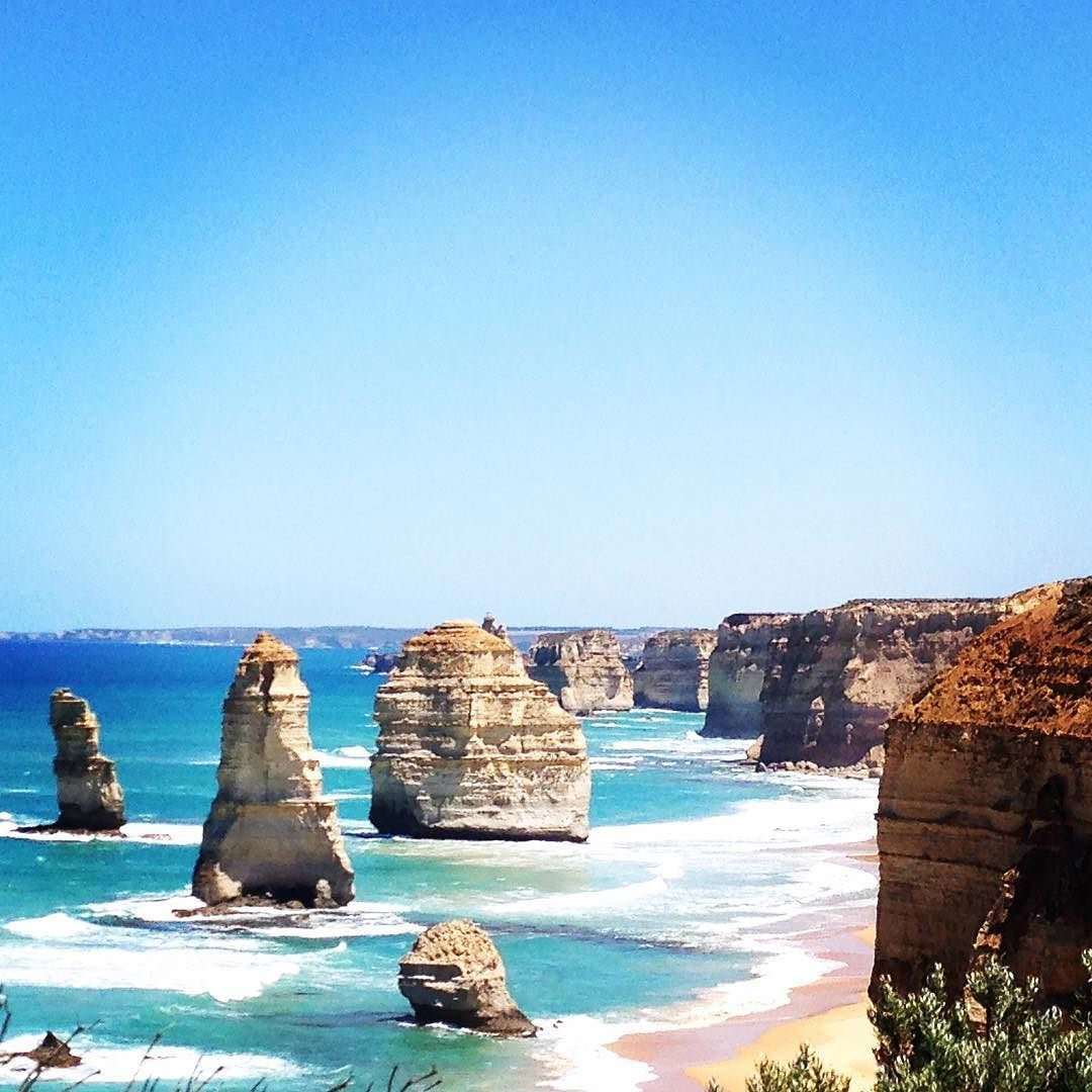 Loved visiting the 12 Apostles recently.  Need to go back in winter when it's not so crowded.  Definitely a must see in Victoria.  #australia #greatoceanroad by markg_author
