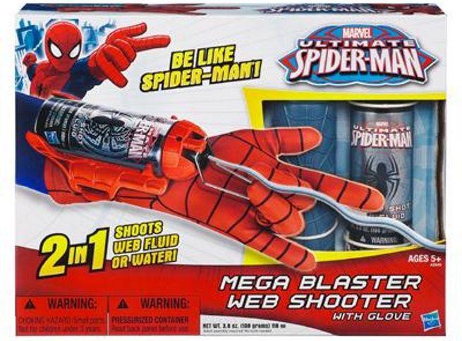 Spider-Man Hero FX Gant Avec Web Shooter Gant/'s Awesome Web-Battling Sons