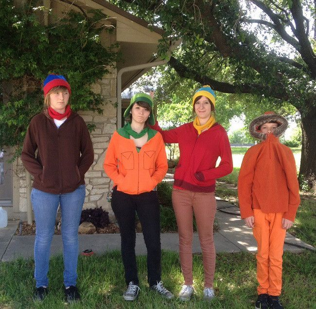 30 great homemade halloween costumes based on tv shows - Southpark Halloween Costumes