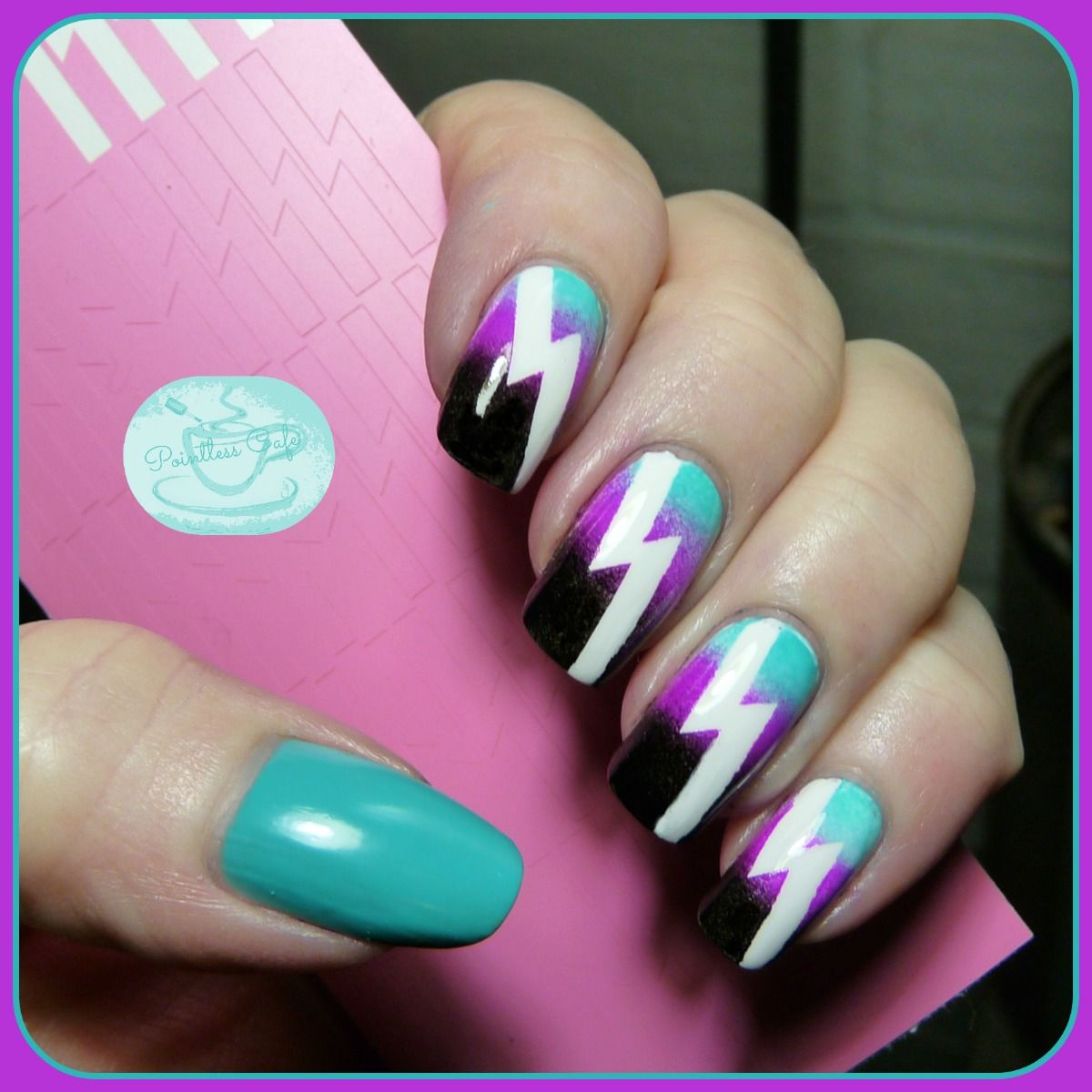 13 Days of January Nail Art Challenge: Complement and Contrast ...