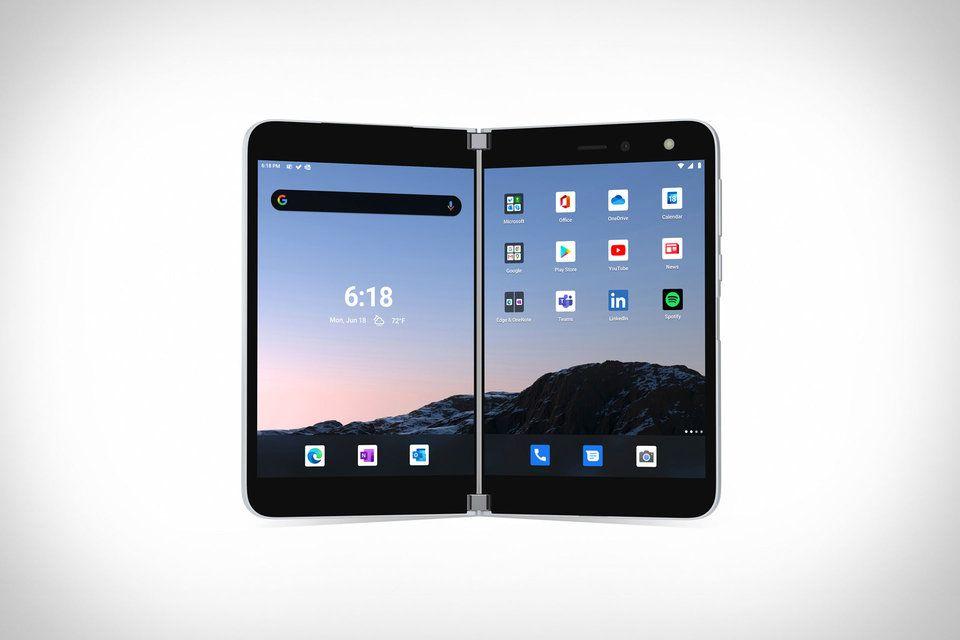 Microsoft surface duo smartphone in 2020 smartphone
