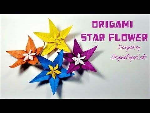 How to make an origami star flower tutorial by origamipapercraft how to make an origami star flower tutorial by origamipapercraft mightylinksfo