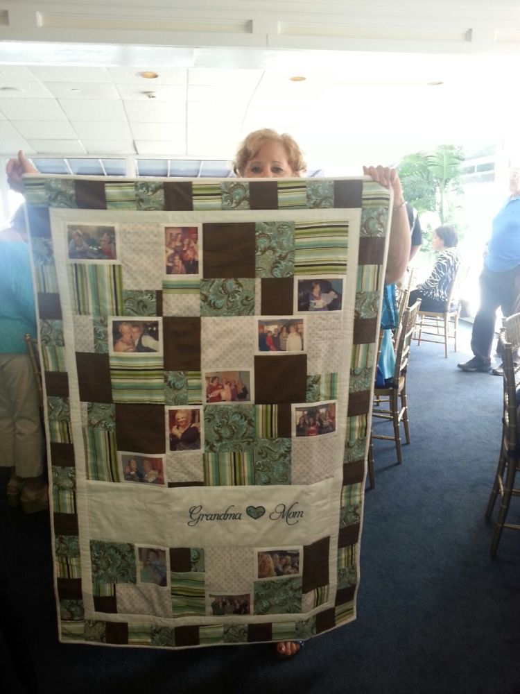 70th Birthday Family Quilt Brunch Parties Mom Ideas