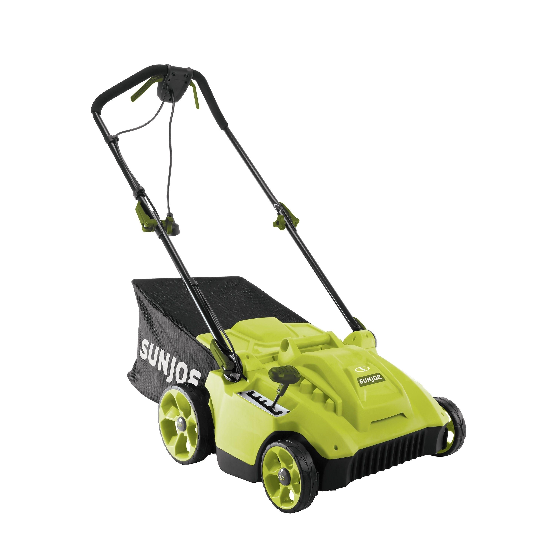 Sun Joe Electric Reel Lawn Mower W Grass Catcher 16 In 6 5 Amp Quad Wheel 24 Blade Green Metal Gardening Reel Lawn Mower Lawn Mower Lawn Mower Brands
