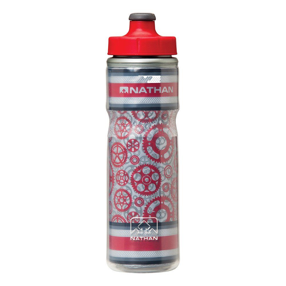 Nathan Freewheeler Bottle (20 oz/600ml) Roja.