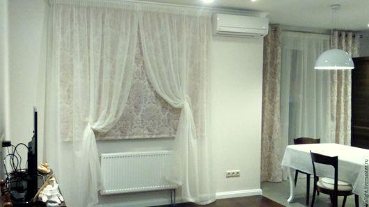 Фото идей тюль и шторы 76