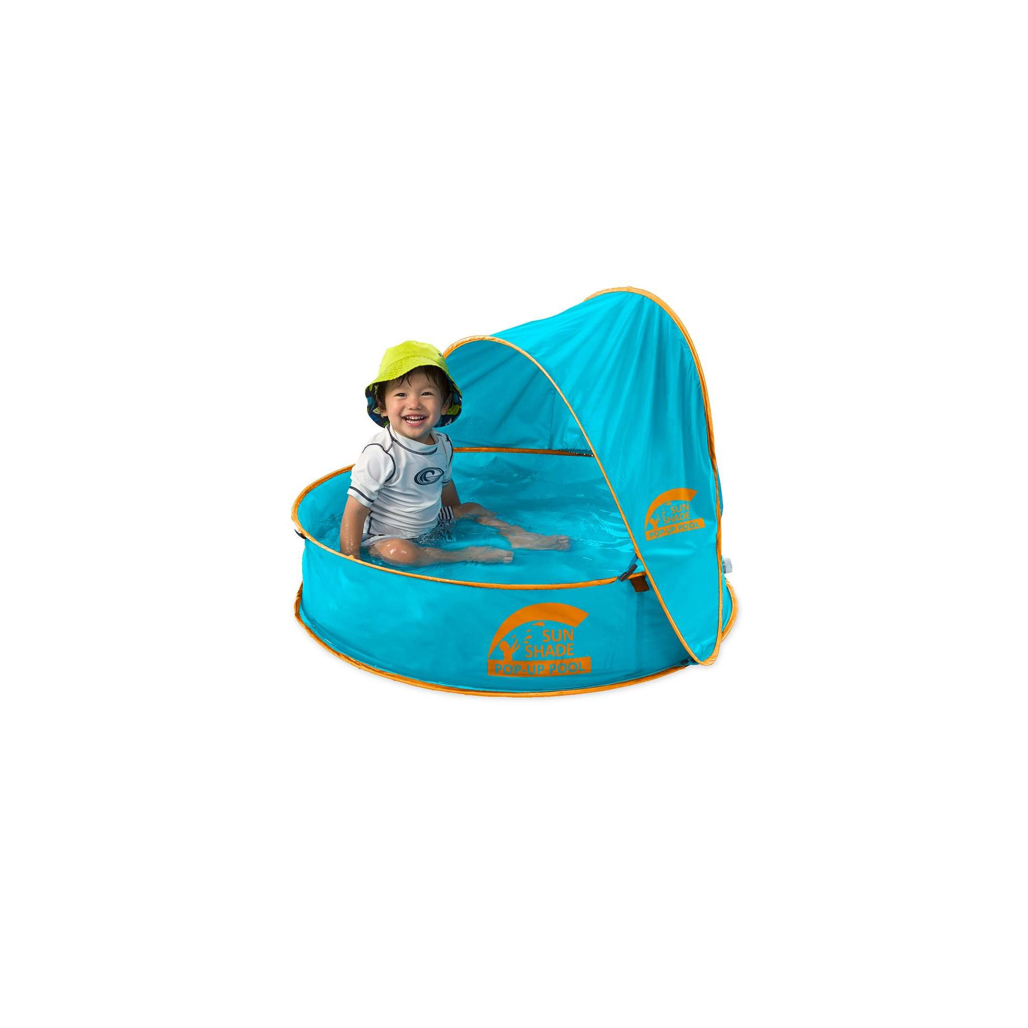 Sunshade Pop Up Portable Pool For