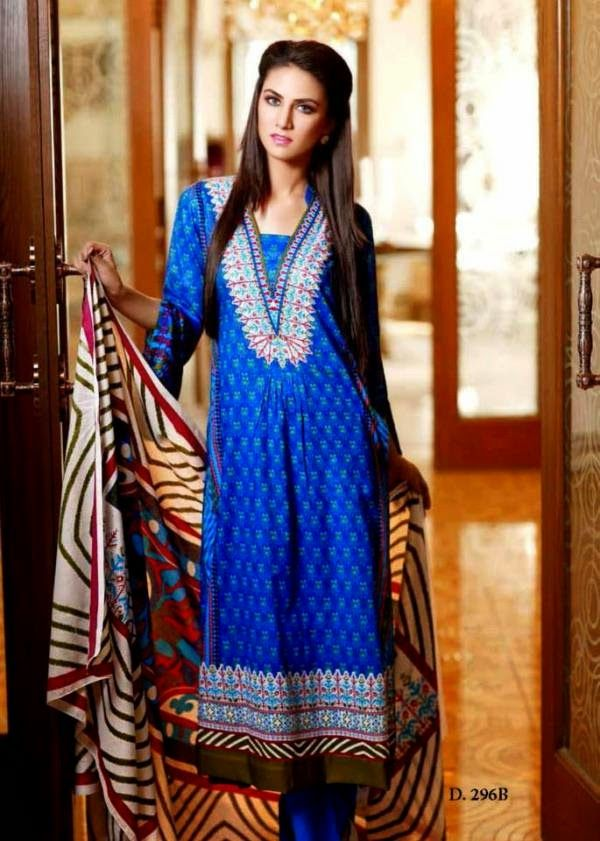 Lawn Dresses 2014 for Eid | Lawn Designs 2014 Outfits for Eid by Sitara Sapna