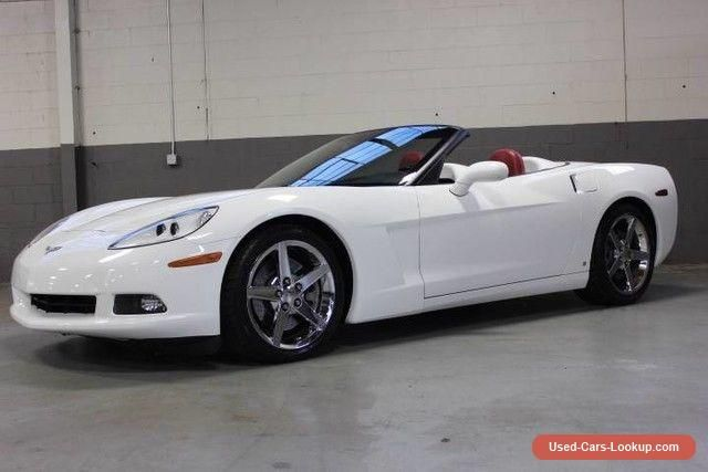 2007 Chevrolet Corvette Base Convertible 2-Door #chevrolet #corvette #forsale #unitedstates