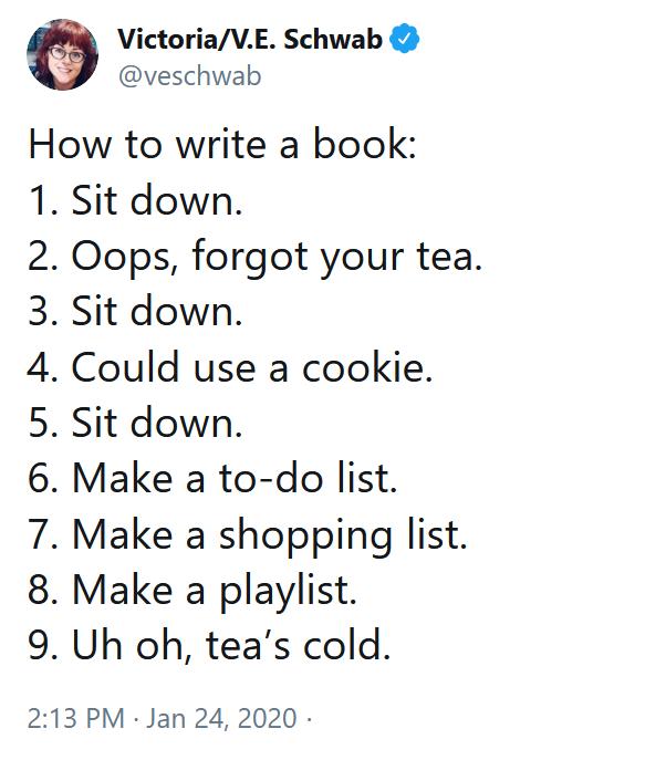 How To Write A Book Again