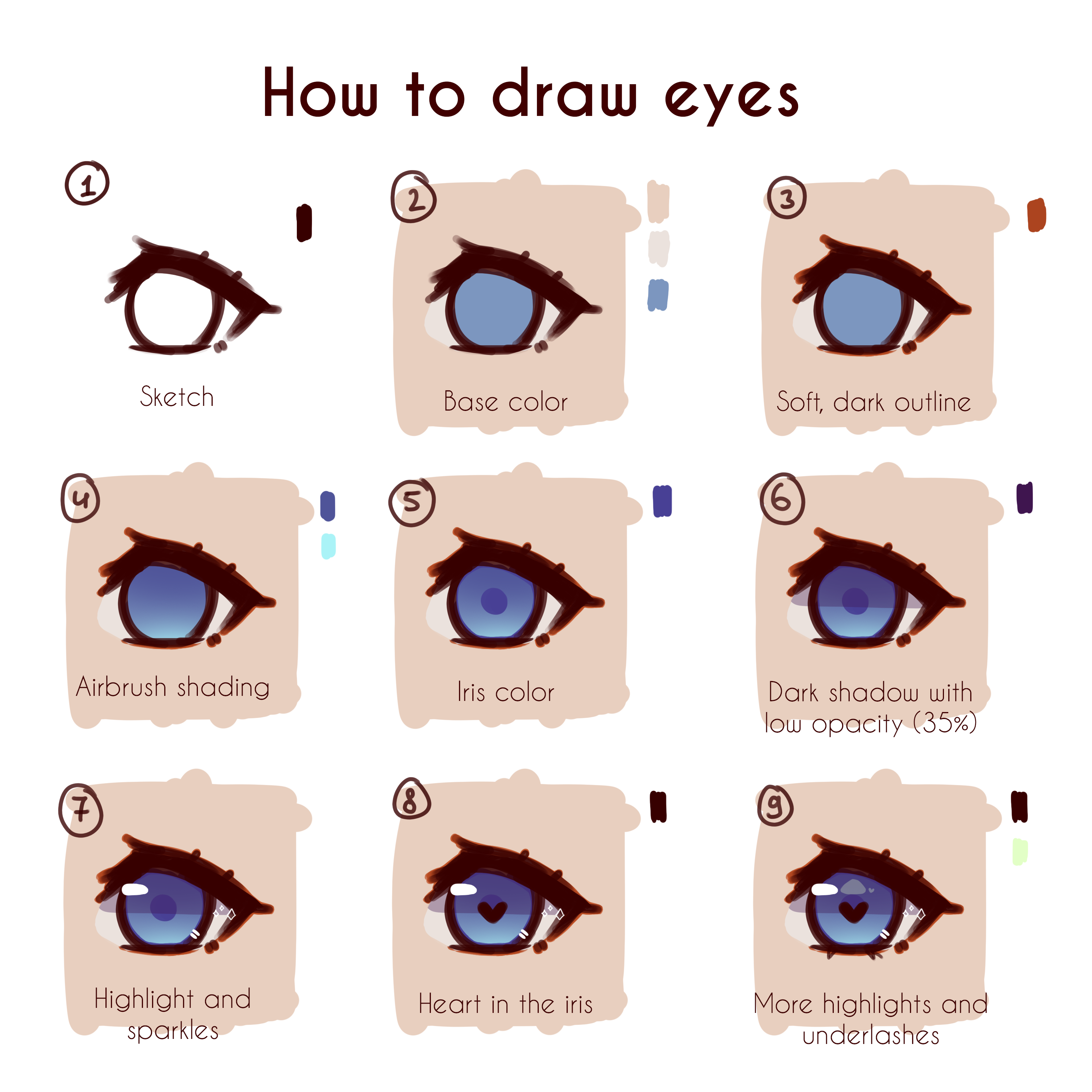 How To Draw Eyes Cute Eyes Drawing Eye Drawing Girl Drawing Sketches
