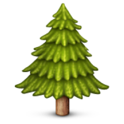Evergreen Tree Emoji U 1f332 Tree Emoji Evergreen Trees Emoji