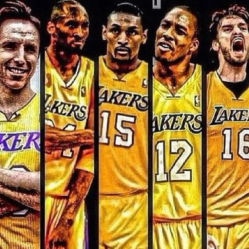 La Lakers Dreamteam Except Th Dream Turned Out To Be A Nightmare Lakers Team Lakers Lakers Girls