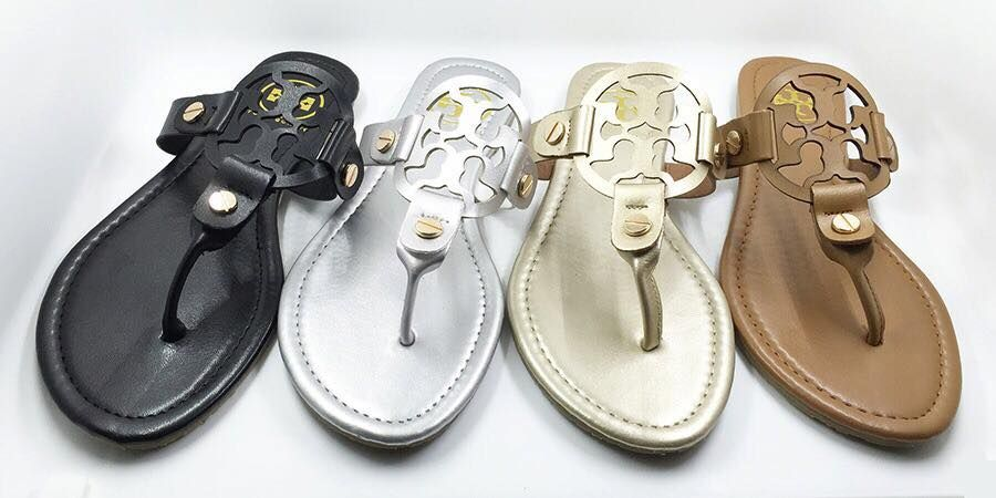ba20bf2ea05 LOVE these Tory Burch inspired sandals! https   www.facebook.com