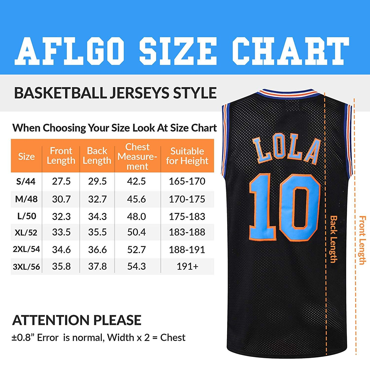 AFLGO Lola 10 Space Jersey Basketball Jerseys Include Set Glow in The Dark Wristbands Halloween Costumes