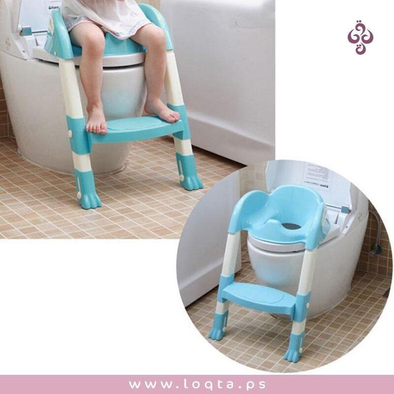 هي فترة التغير والتطور لدى طفلك أليس كذلك كرسي حمام مع درج للأطفال بلاستيك قابل للطي مريح جدا وآمن غير قابل للانزلاق متجر لقطة Chair Furniture Decor