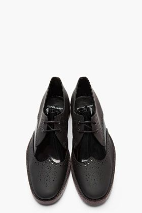Pierre Hardy Patent Leather Lace Ups
