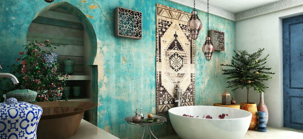 Exotic tiles for a beautiful bathroom bad pinterest badezimmer orientalische deko and baden - Badezimmer marokkanisch ...