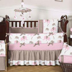 Elephant Crib Bedding Set Crib Bedding For Girls So I Love
