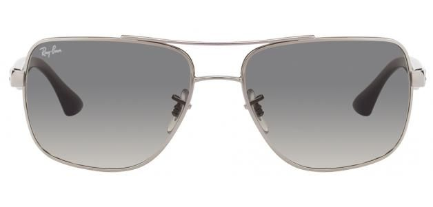 c58224b245c Ray-Ban RB3483 003 32 Size 60 Silver Grey Gradient Sunglasses
