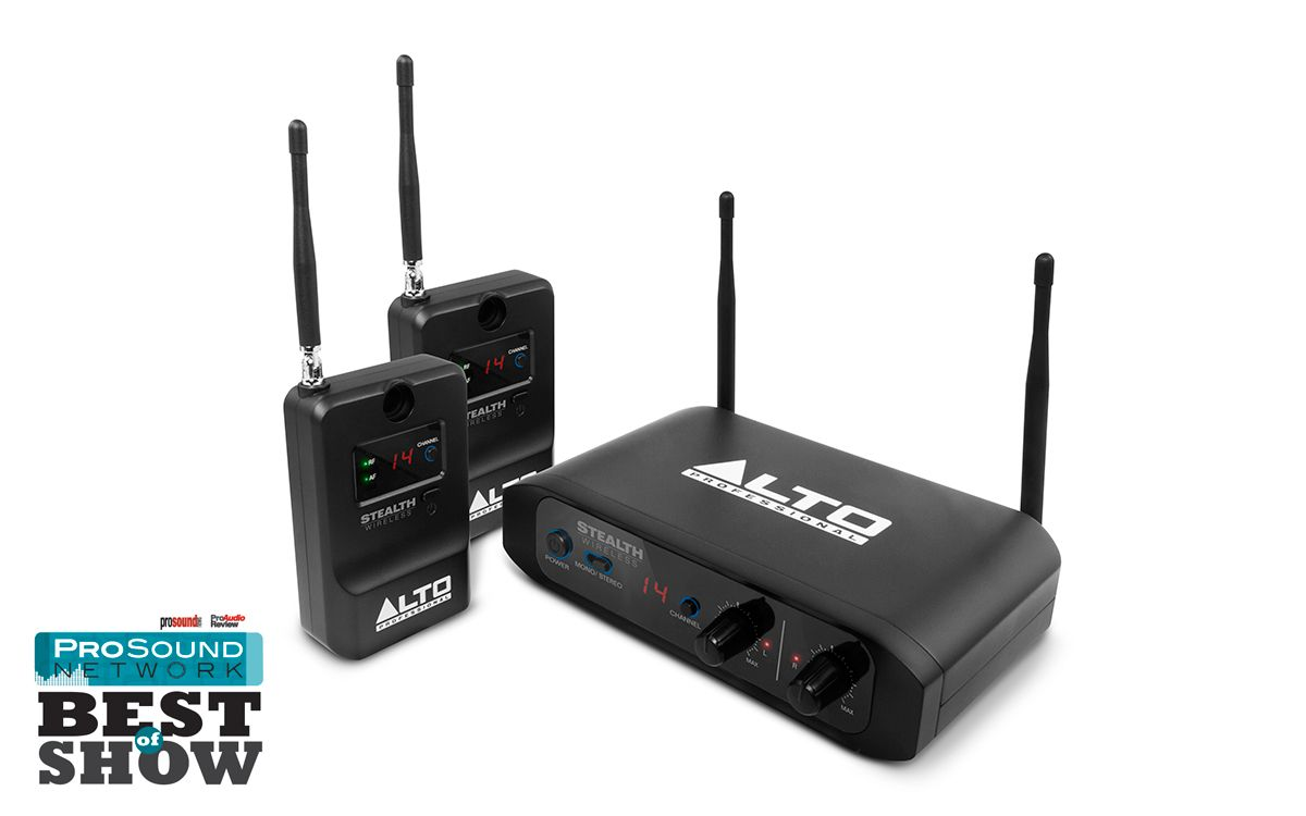 Alto Stealth Wireless Stereo Connection System for Active ...