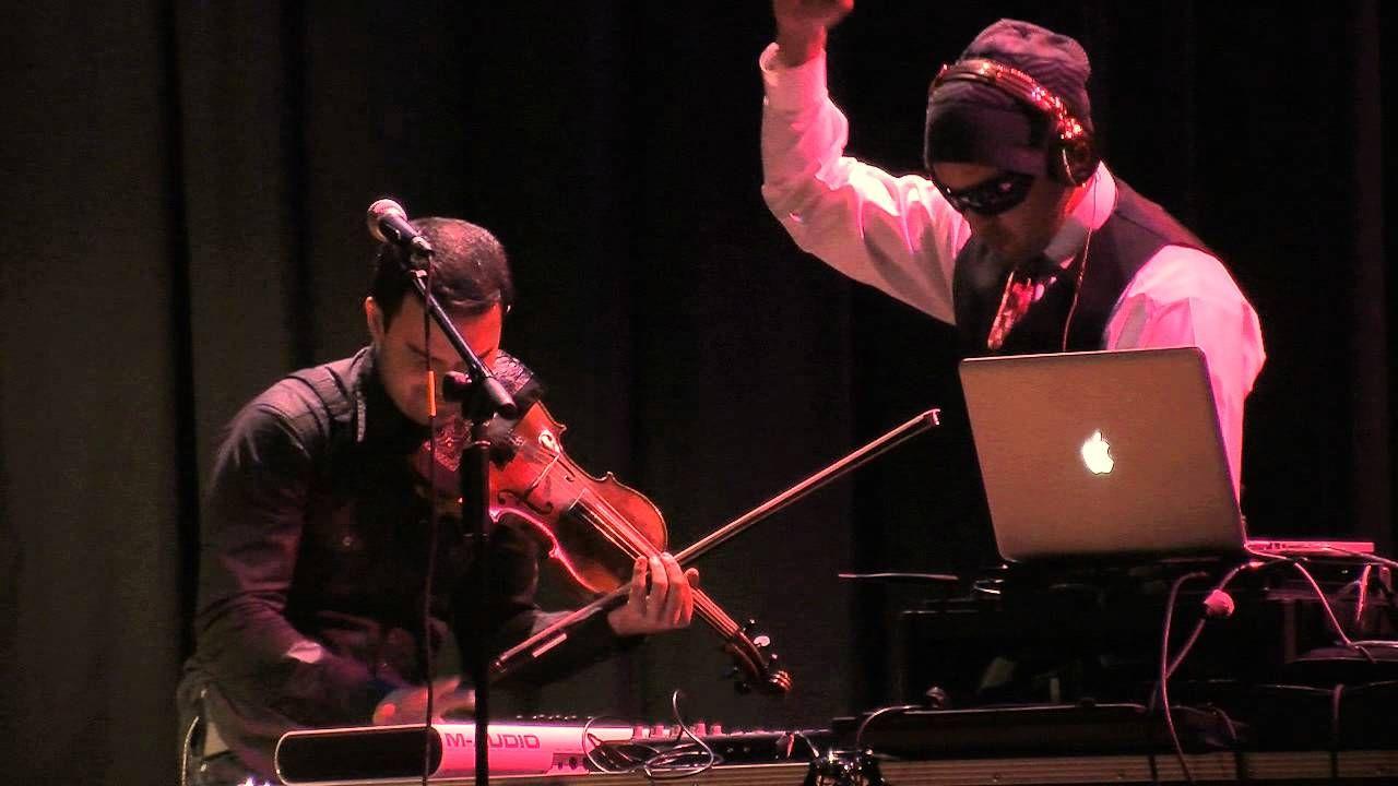 DJ Dueling fiddlers