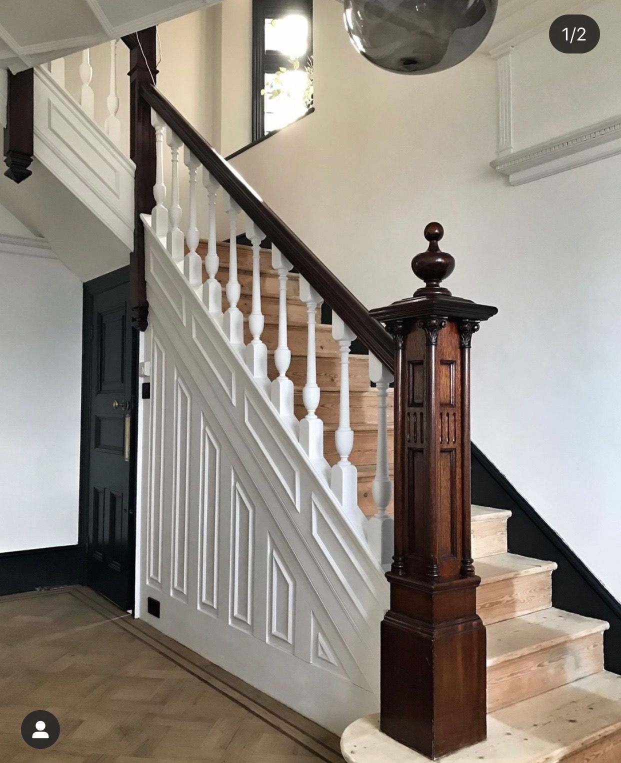 Beautiful Interior Staircase Ideas And Newel Post Designs: Pin By Cranstone House On Newel Posts