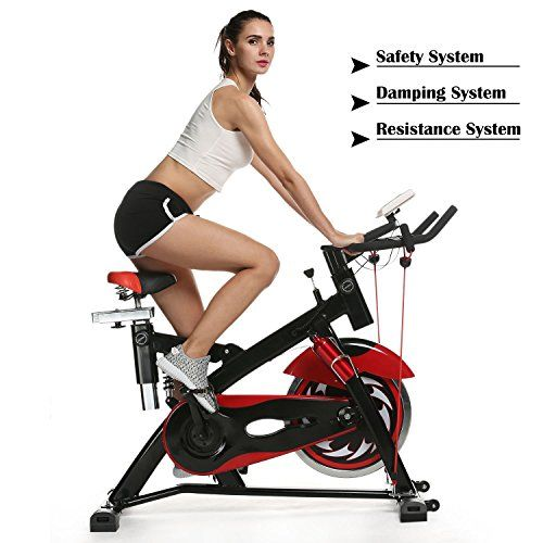 Leikefitness Indoor Cycling Bike Stationary With Magnetic