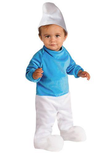 Infant Smurf costume #Halloween ahhhhhhhhhhhhhhhhhhhhhhh Smurfs - halloween costume ideas for infants