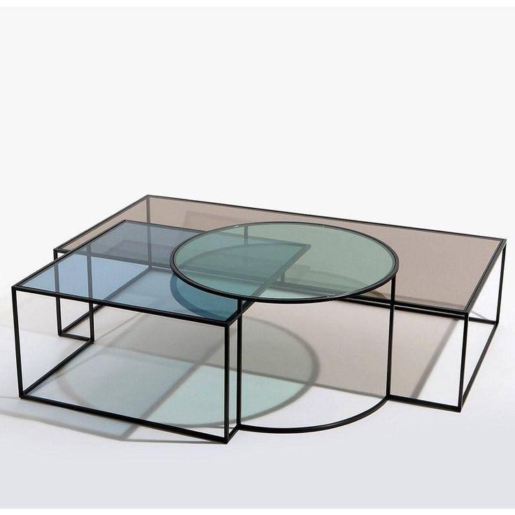 Nada debs coffee cocktail table geometrik