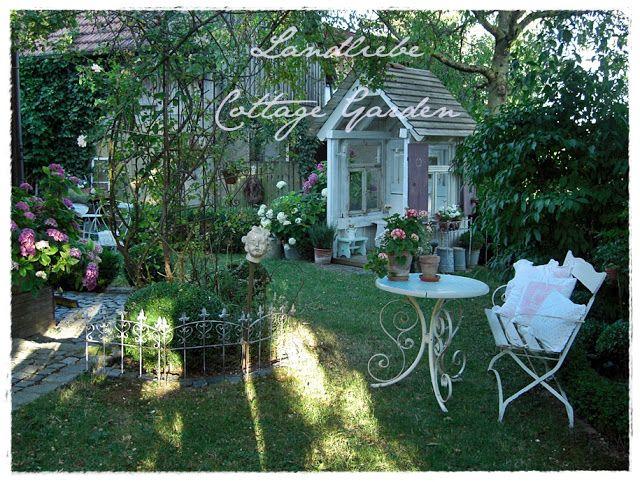 Landliebe cottage garden garden dreams pinterest - Cottage garten terrasse ...