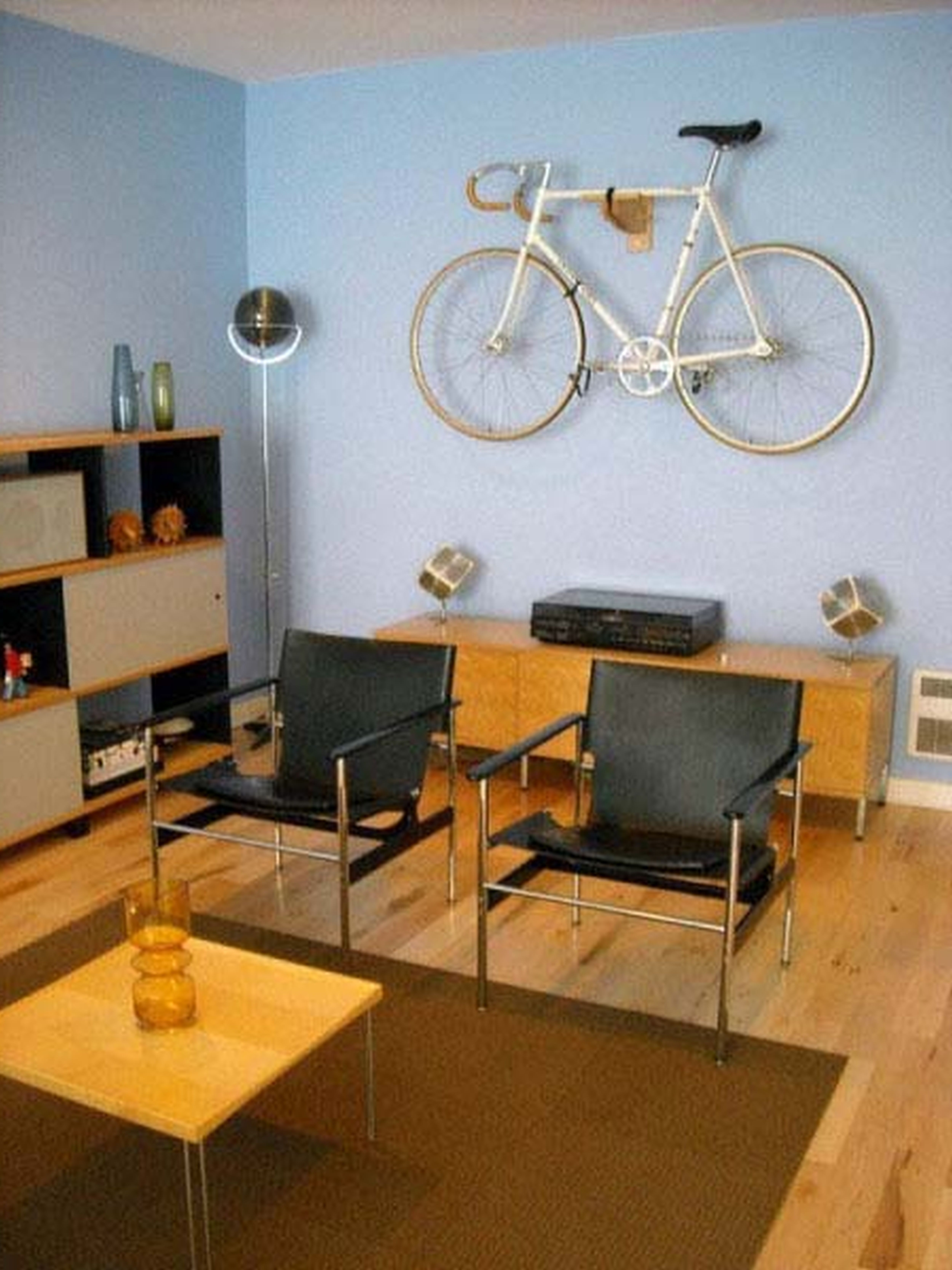 Bike storege in small spaces. | Small apartment bike ...