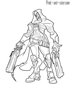 Overwatch Drawing Tutorial Reaper Drawing Drawing Tutorials Online