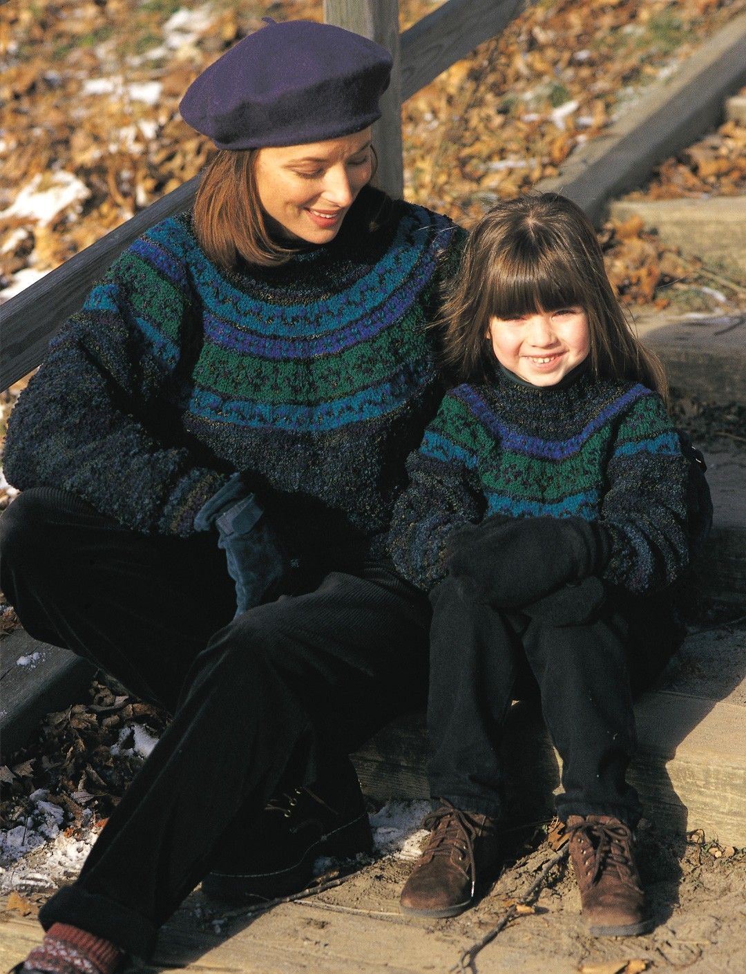 Yarnspirations.com - Patons Just Me and Mom - Patterns ...