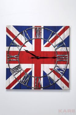 Wall Clock Very British by #KAREDesign